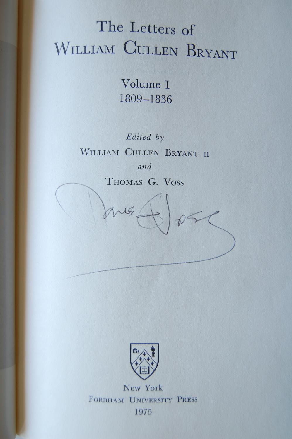 The letters of William Cullen Bryant, Volume 5