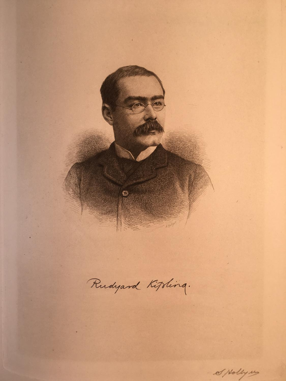 Rudyard Kipling Kipling, Rudyard [Fine] (bi_30088452168) photo