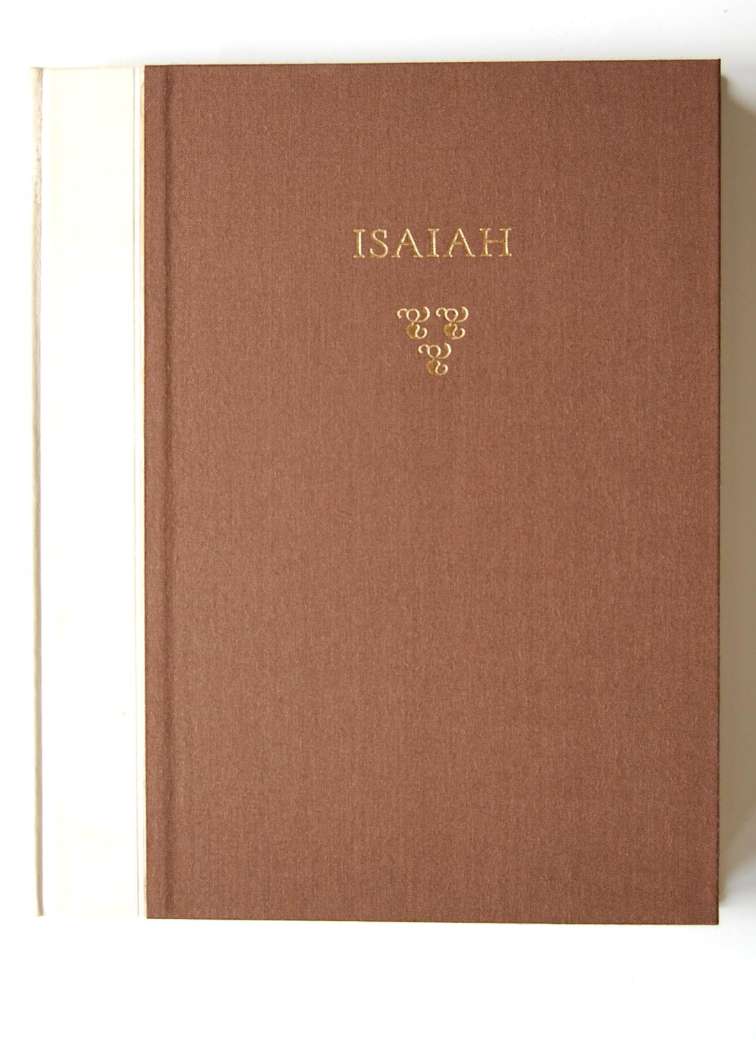 The Book of the Prophet Isaiah Isaiah Fine Hardcover