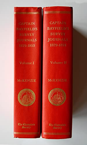 The St. Lawrence Survey Journals of Captain Henry Wolsey Bayfield