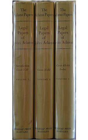 The Adams Papers: Legal Papers of John: Adams, John; L.