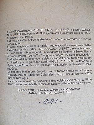 Paneles de Infierno: Urtecho, José Coronel; Luis Miguel Valdés