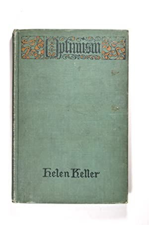 helen keller first edition signed abebooks optimism an essay keller helen