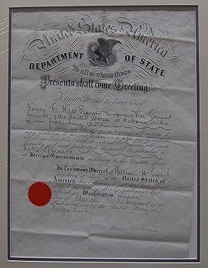 Documents - Havana, Cuba; Guatemala: Grant, Ulysses S.;