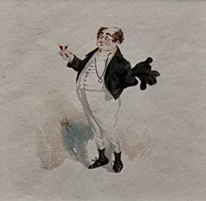 Pickwick Papers - illustration: Charles Dickens; Kyd