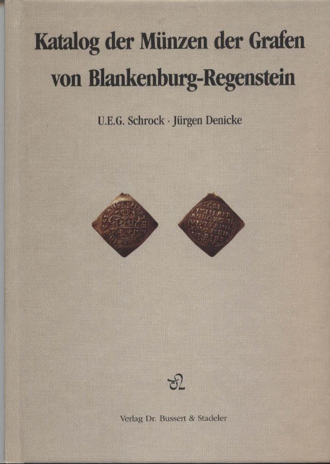 Katalog der Münzen der Grafen von Blankenburg-Regenstein.