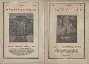 Kataloge 546 + 349: Kunstgeschichte + Kunstgewerbe.: Hiersemann, Karl W.: