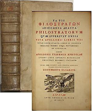 Philostratorum quae supersunt omnia : Vita Apollonii libris VIII. Vitae Sophistarum libris II. ...