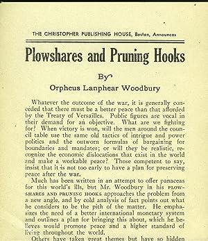Plowshares and Pruning Hooks: Woodbury, Orpheus Lanphear
