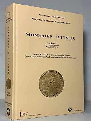 Monnaies d'Italie I-Maison de Savoie, Rois d'Italie, Republique Italienne, Savoie-Achaie,...