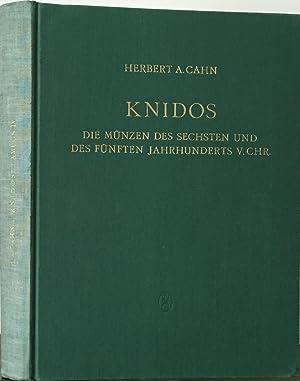 Knidos Die Muenzen des sechsten und des fuenften jahrhunderts v. Chr.: Cahn, Herbert