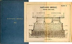 HARVARD BRIDGE. BOSTON TO CAMBRIDGE: Algers, Matthews and Gale