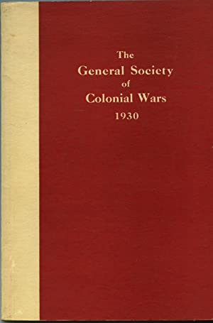 VOLUME II NO 2. LIST OF GENERAL OFFICERS, DEPUTY GOVERNORS GENERAL, GOVERNORS AND SECRETARIES OF ...