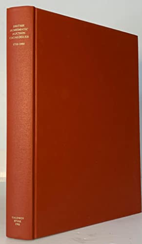 Encyclopedia of British Numismatics, Vol. I, British: Manville, Harrington &