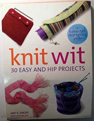 Knit Wit 30 Easy And Hip Projects: Amy Singer