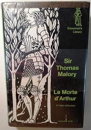 Le Morte d'Arthur Volume 1: Sir Thomas Malory