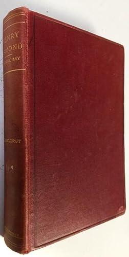 The History Of Henry Esmond Esq. : Henry Esmond, Esq.
