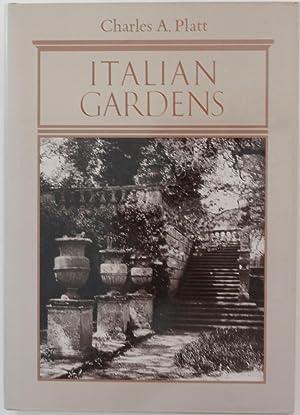 Italian Gardens: Charles A. Platt,