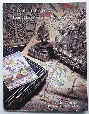 Kestenbaum & Co.: Catalogue of Fine Judaica: Kestenbaum & Co.