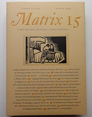 Matrix 15: A Review for Printers and: John and Rosalind