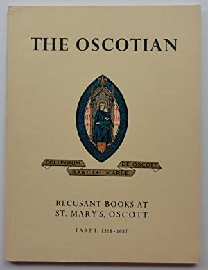 The Oscotian: Recusant Books at St. Mary's, Oscott