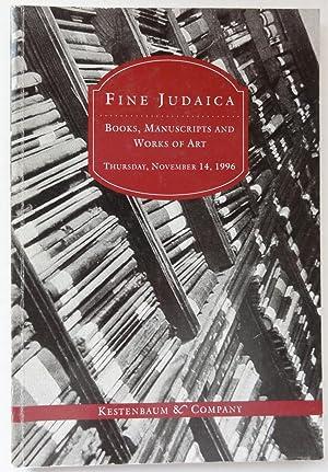 Kestenbaum & Co. Catalogue of Fine Judaica: Kestenbaum & Co.