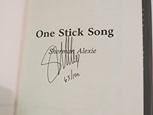 One Stick Song: Sherman Alexie