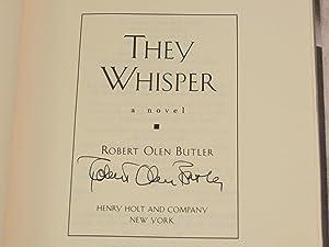 They Whisper: A Novel: Butler, Robert Olen