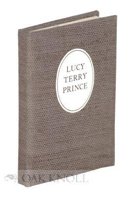 LUCY TERRY PRINCE