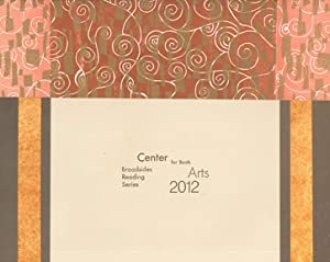 CENTER BROADSIDES 2012 READING SERIES