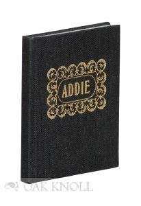 ADDIE: AN OBITUARY-1895