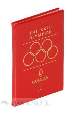 XXIII OLYMPIAD. THE: Weber, Francis J.