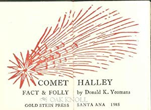 COMET HALLEY, FACT OR FOLLY: Yeomans, Donald K.