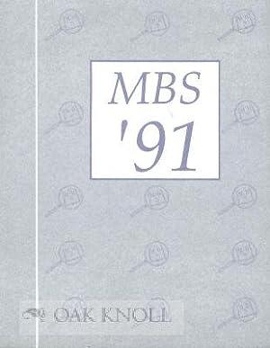 1991 MINIATURE BOOK EXHIBITION CATALOG: Cummings, Eileen B.