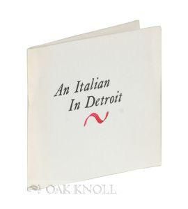 ITALIAN IN DETROIT.|AN