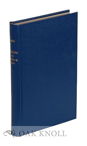 BIBLIOGRAPHIE DES CHANSONS DE GESTE: Gautier, Leon