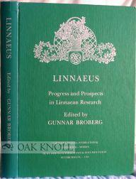 LINNAEUS, PROGRESS AND PROSPECTS IN LINNAEAN RESEARCH: Broberg, Gunnar
