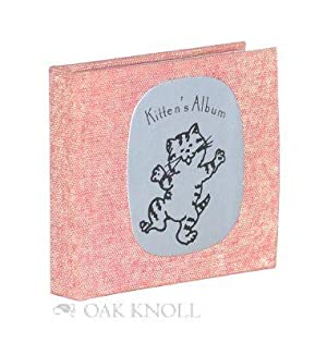 KITTEN'S ALBUM: A MEMORY BOOK
