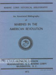 ANNOTATED BIBLIOGRAPHY OF MARINES IN THE AMERICAN: Tyson, Carolyn A.