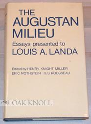 AUGUSTAN MILIEU. ESSAYS PRESENTED TO LOUIS A. LANDA.|THE