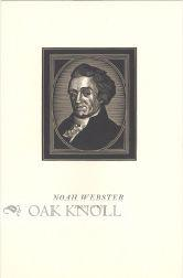 NOAH WEBSTER, 1758-1843: Grauer, Ben