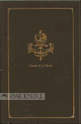 CATALOGUE OF THE CHARLES R.J. GLOVER LIBRARY RELATING TO AUSTRALIA, NEW GUINEA, NEW ZEALAND AND THE...