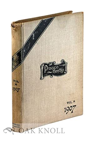 PROCESS ENGRAVER'S MONTHLY, THE PROCESS PHOTOGRAM. VOLUME XIV.|THE: Ward, H. Snowden (editor)