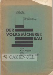 VOLKSBUCHEREIBAU.|DER: Wieser, Max