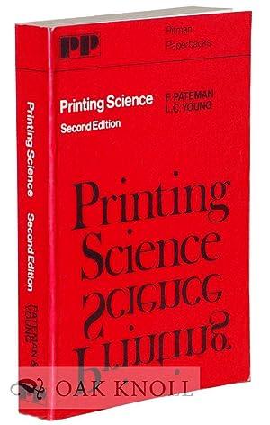 PRINTING SCIENCE: Pateman, F. and