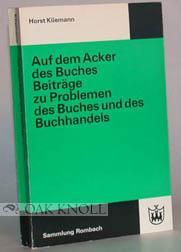 WESTDEUTSCHE BUCHERMARKT.|DER: Meyer-Dohm, Peter