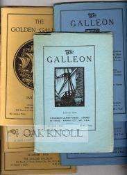 GOLDEN GALLEON.|THE: Fowler, Arthur (editor)