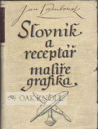 SLOVNIK A RECEPTAR MALIRE-GRAFIKA: Rambousek, Jan