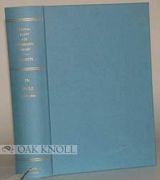 ZENTRALBLATT FUR BIBLIOTHEKSWESEN VOLUME 9-10