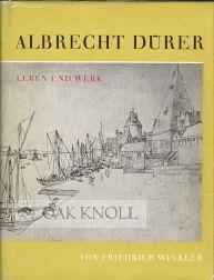 ALBRECHT DÜRER LEBEN UND WERK: Winkler, Friedrich